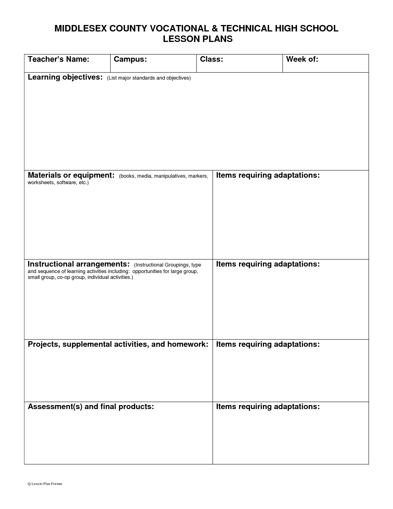 7 Best Images Of Worksheets Middle School Career