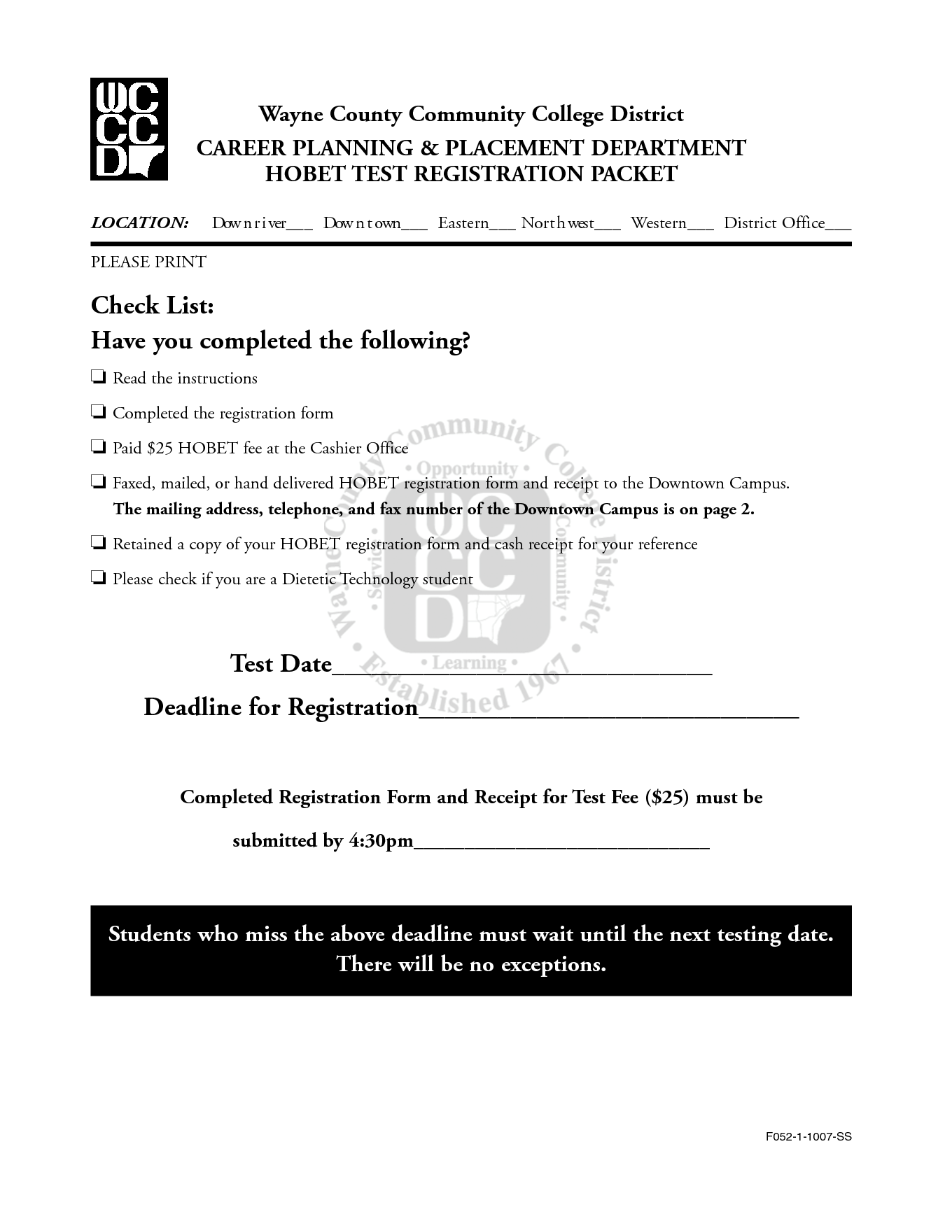 11 Best Images Of Printable Career Worksheets