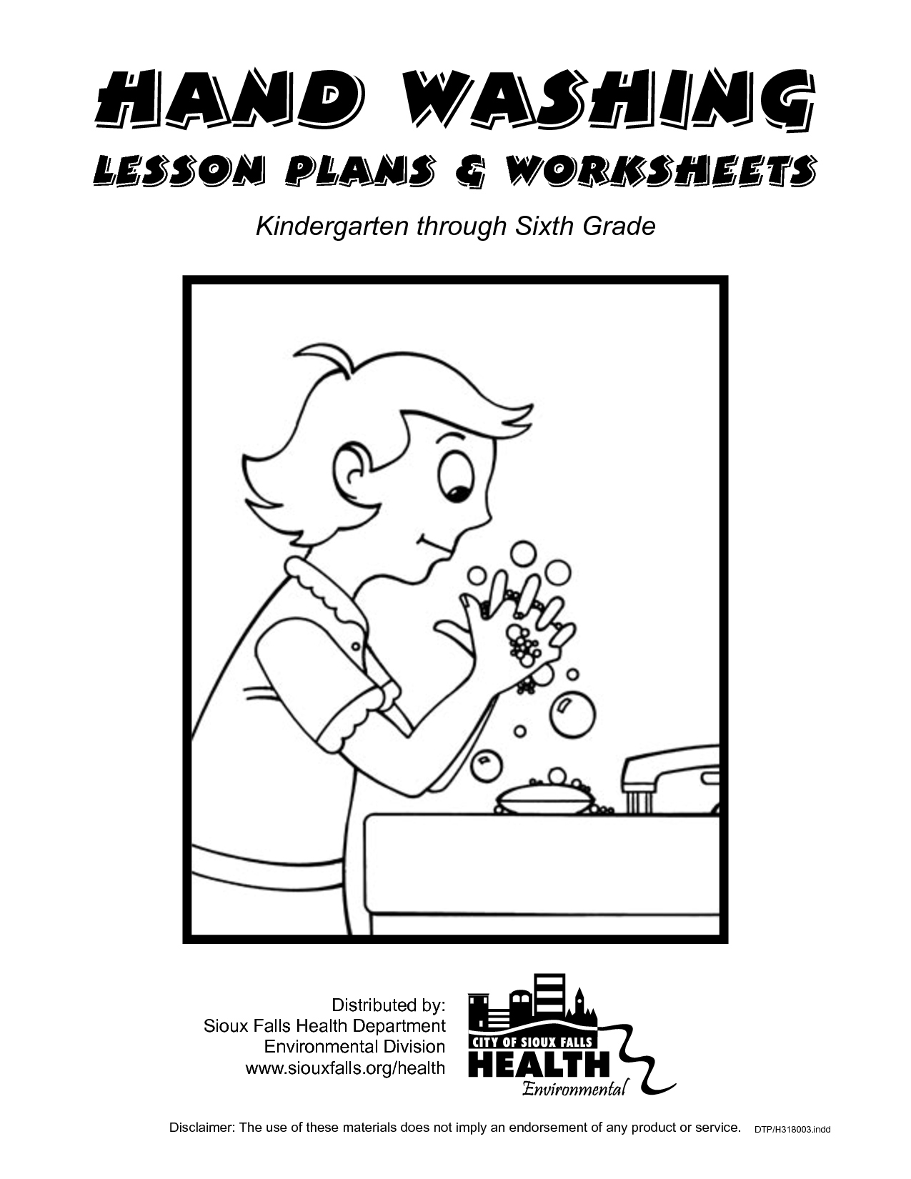Nutrition Printable Worksheet