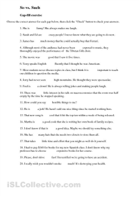 Printable English Grammar Worksheets For High School