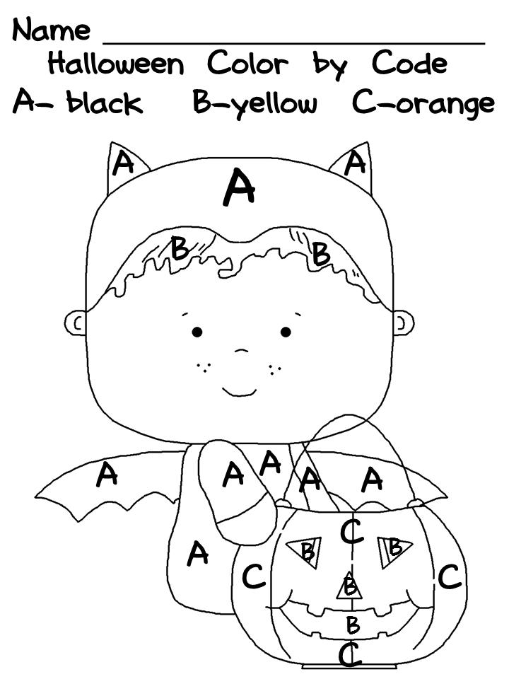 16 Best Images of Halloween Worksheets For Preschool