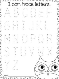 10 Best Images of Letter A Worksheets For 3 Year Olds
