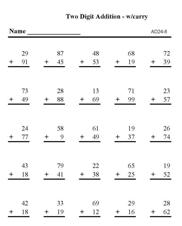 Image Result For Math Worksheets Multi Digit Multiplication