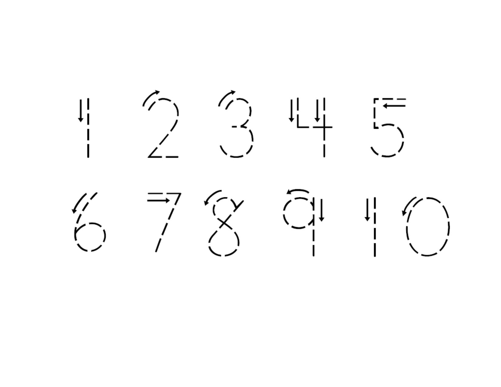 14 Best Images Of Practice Writing Numbers 1 20 Worksheet
