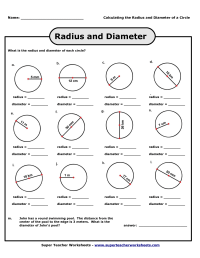 9 Best Images of Circumference Of A Circle Worksheets ...