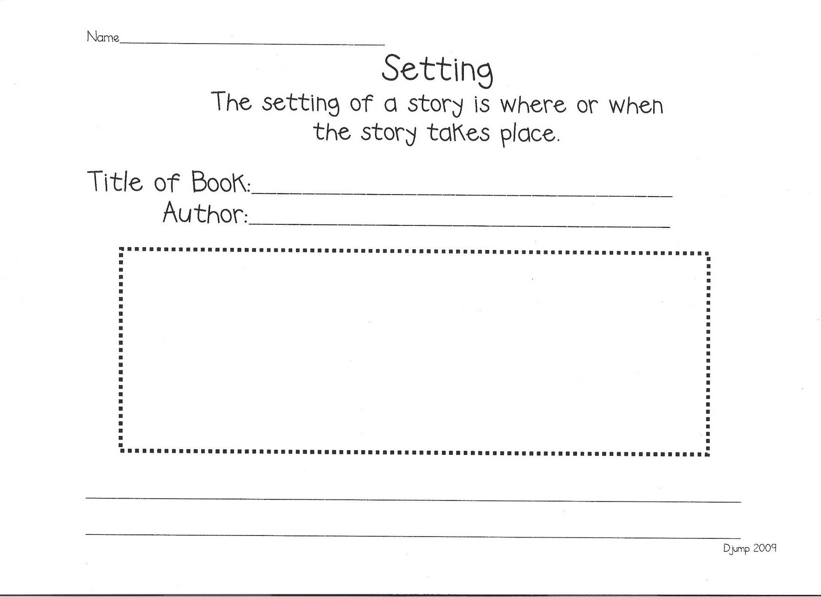 10 Best Images Of Printable Listening Center Worksheet
