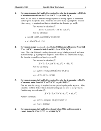 19 Best Images of Thermal Energy Worksheet Answers - Heat ...