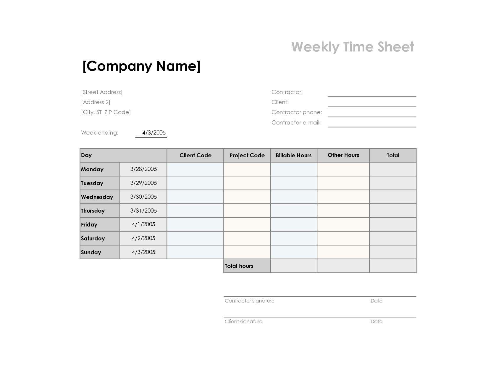 12 Best Images Of Worksheets Printable Schedule
