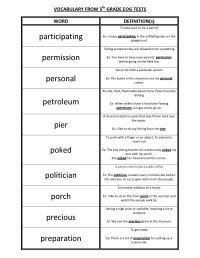 13 Best Images of Vocabulary Worksheets For Middle School ...