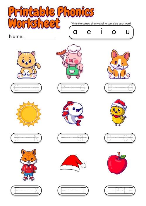 small resolution of English Worksheets Kindergarten   www.robertdee.org