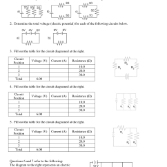 Diagram Of Series And Parallel Circuits Ford 2n Wiring Circuit Worksheet Electrical Load