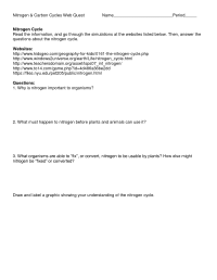 17 Best Images of Nitrogen Cycle Worksheet - Parts of a ...