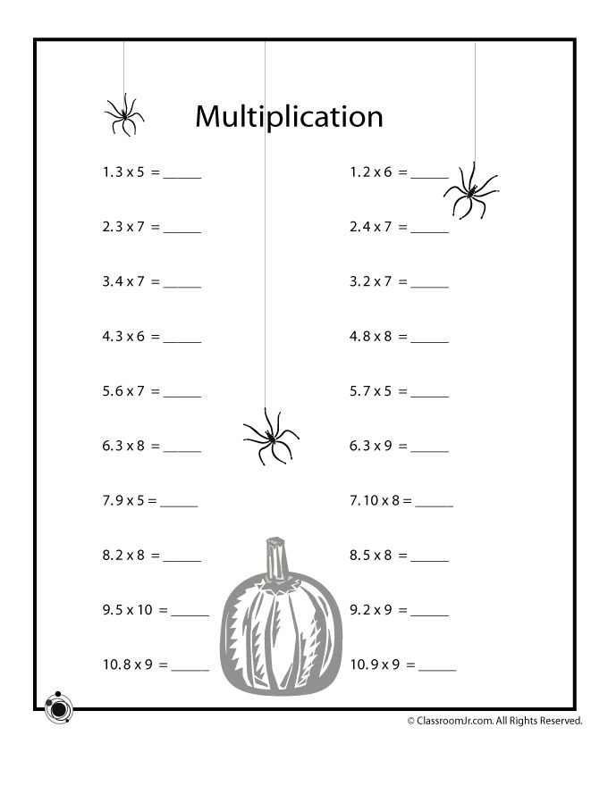 12 Best Images of Multiplication Coloring Worksheets 4th