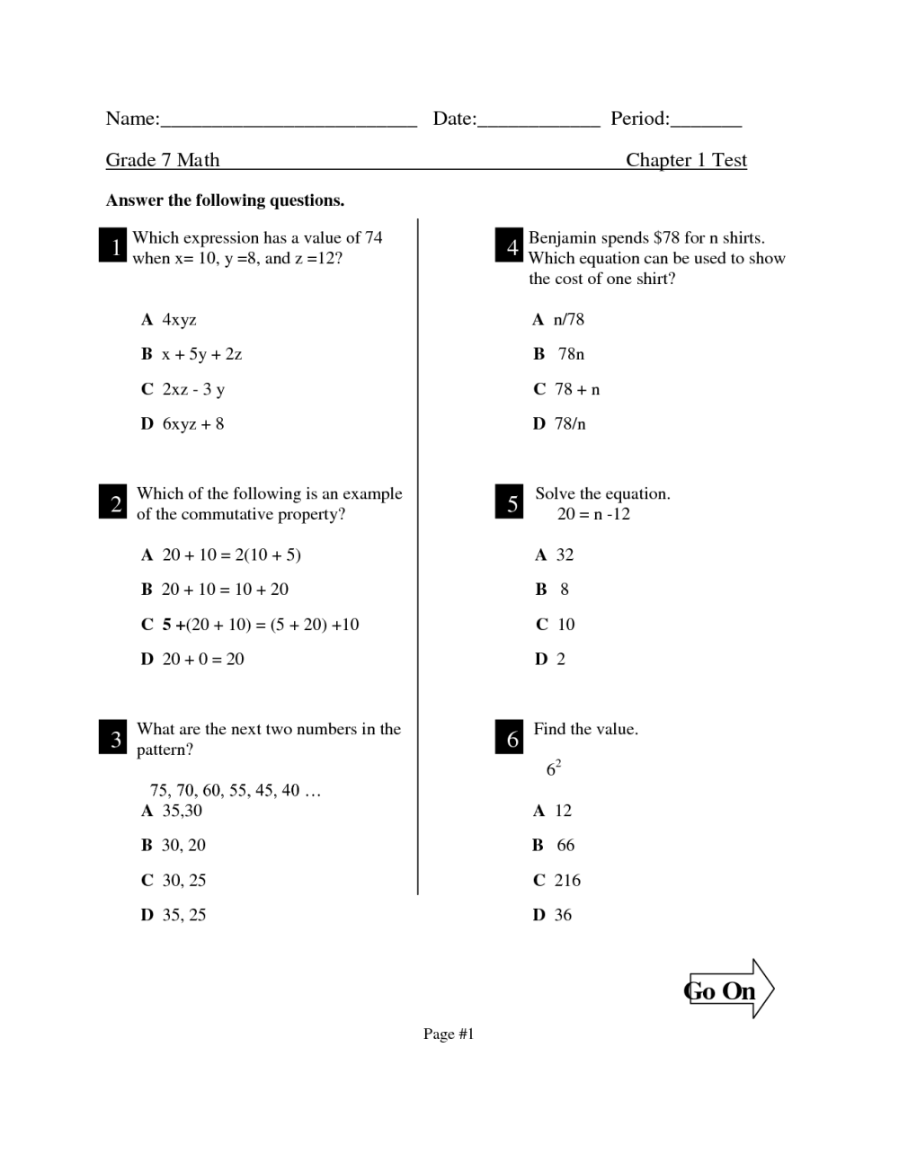 medium resolution of Pi Worksheet Grade 7   Printable Worksheets and Activities for Teachers