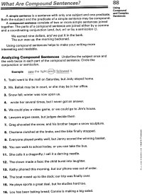 17 Best Images of Simple Sentence Worksheets 6th Grade ...