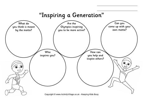 15 Best Images of Olympic Worksheets For Kindergarten