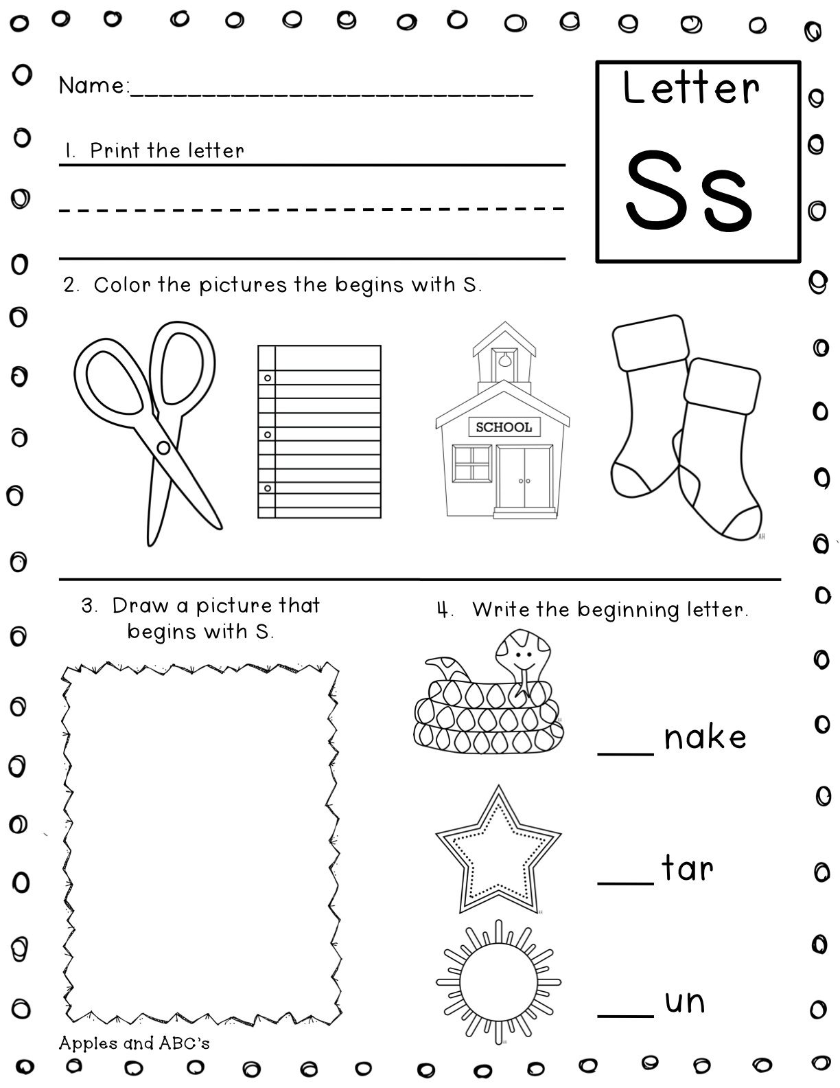 16 Best Images Of Sounding Out Letters Worksheet