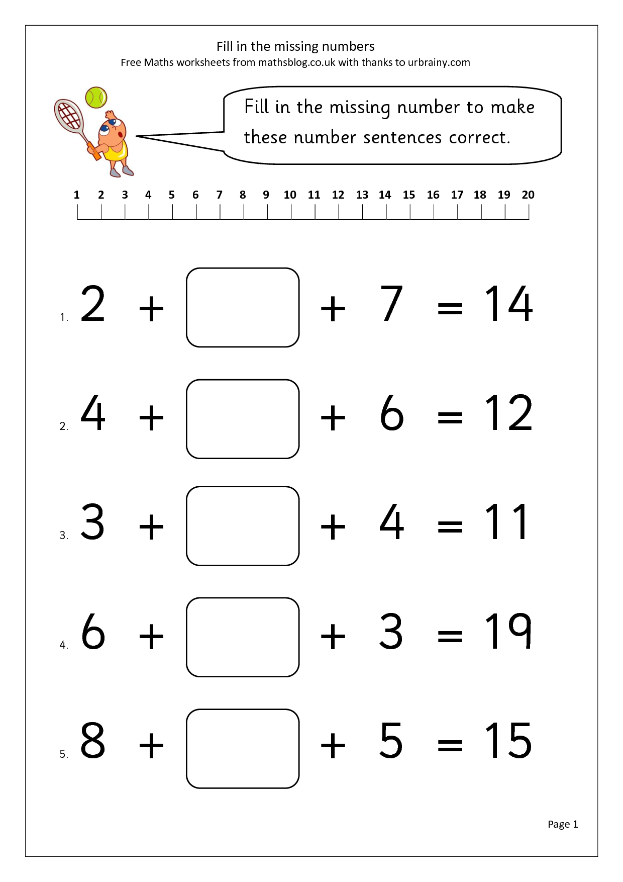 14 Best Images Of Addition Worksheets Add 10 More