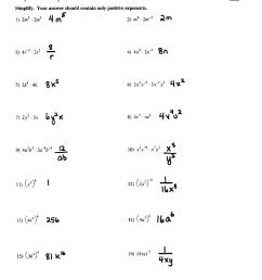 Hard Exponents Worksheets With Answers   Printable Worksheets and  Activities for Teachers [ 1664 x 1275 Pixel ]