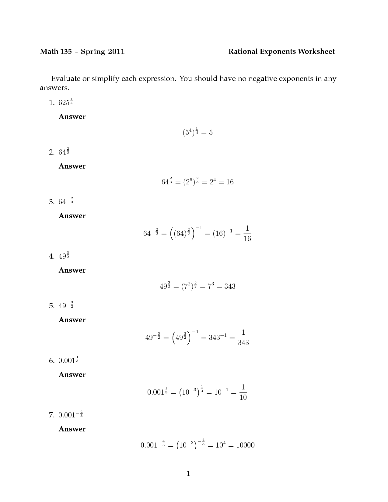 hight resolution of Exponent Rules Fun Worksheet   Printable Worksheets and Activities for  Teachers