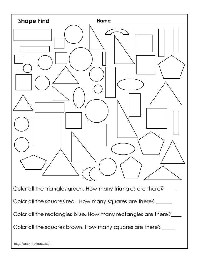 8 Best Images of Free Hidden Object Printable Worksheets