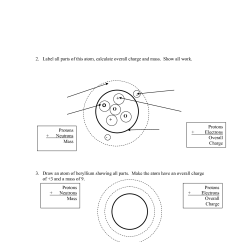 Bohr Diagram Worksheet Answer Key Cat 6 Cable Wiring 17 Best Images Of Which Atom Is Drawing