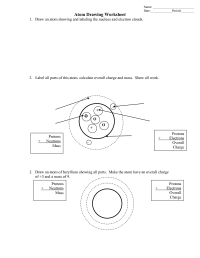 17 Best Images of Which Atom Is Which Worksheet - Drawing ...