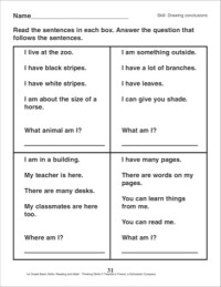 11 Best Images of Drawing Conclusions Worksheets 2nd Grade ...
