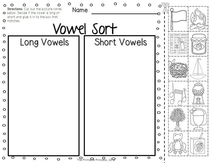 9 Best Images of Long And Short Worksheets Kindergarten
