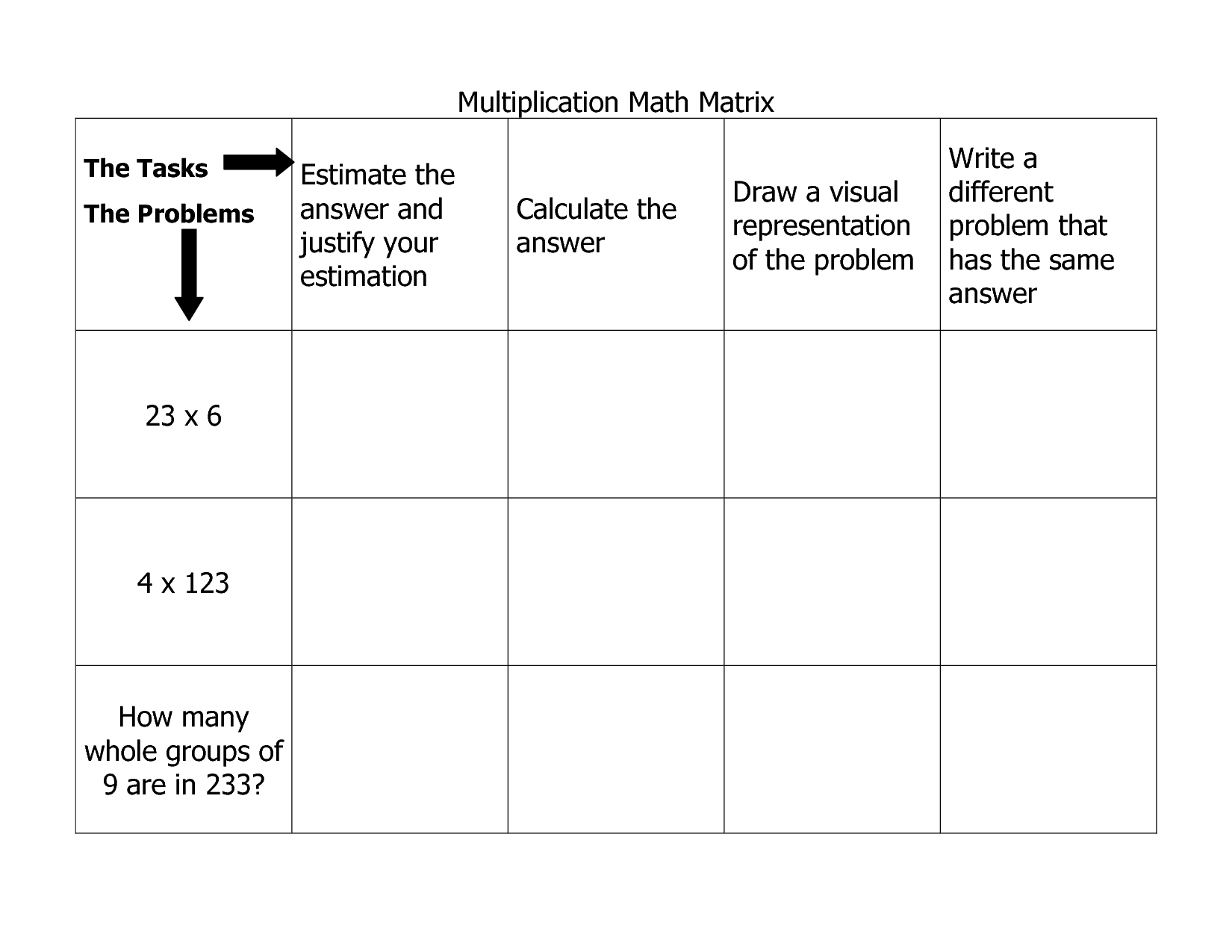 6 Best Images Of Matrix Inverse Worksheet