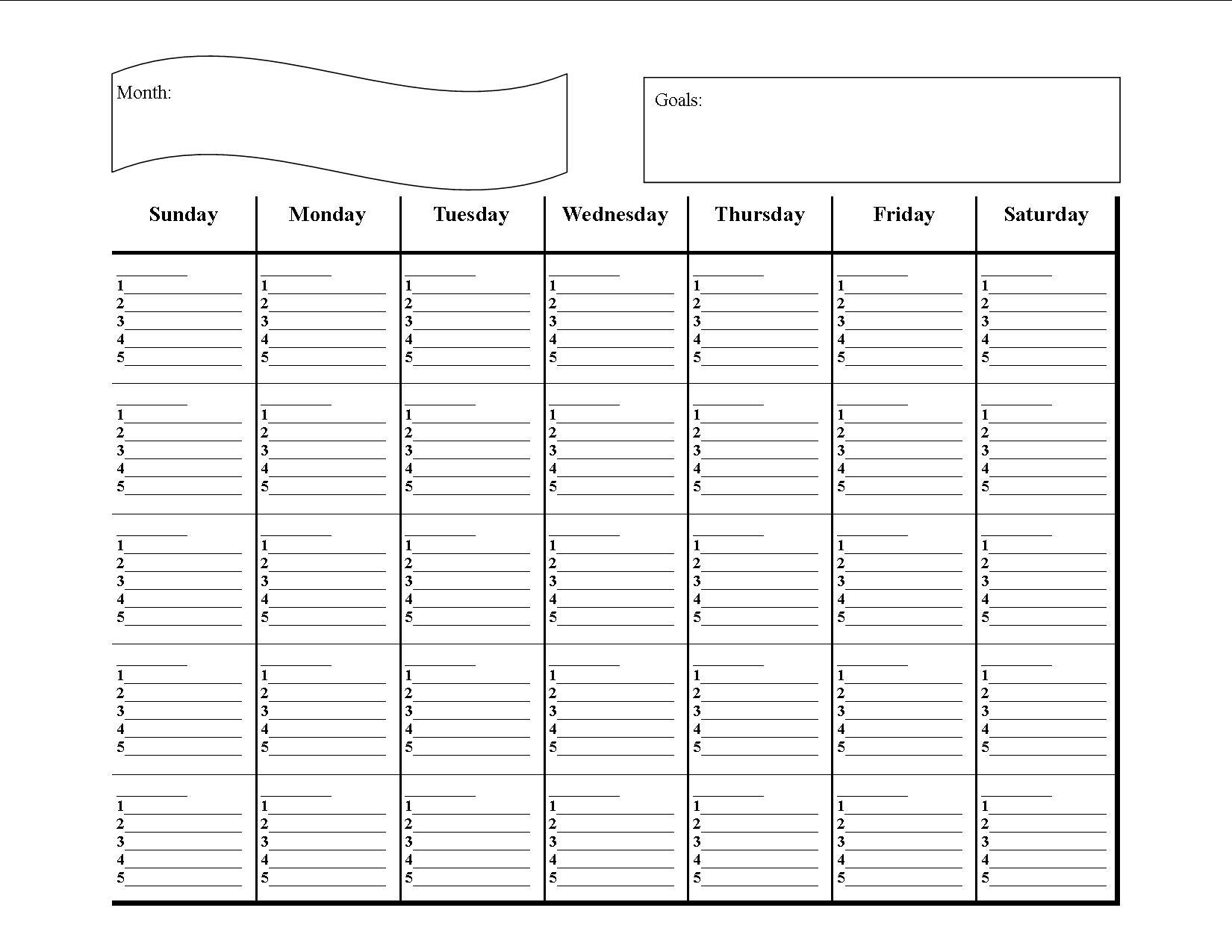 31 Student Time Management Worksheet