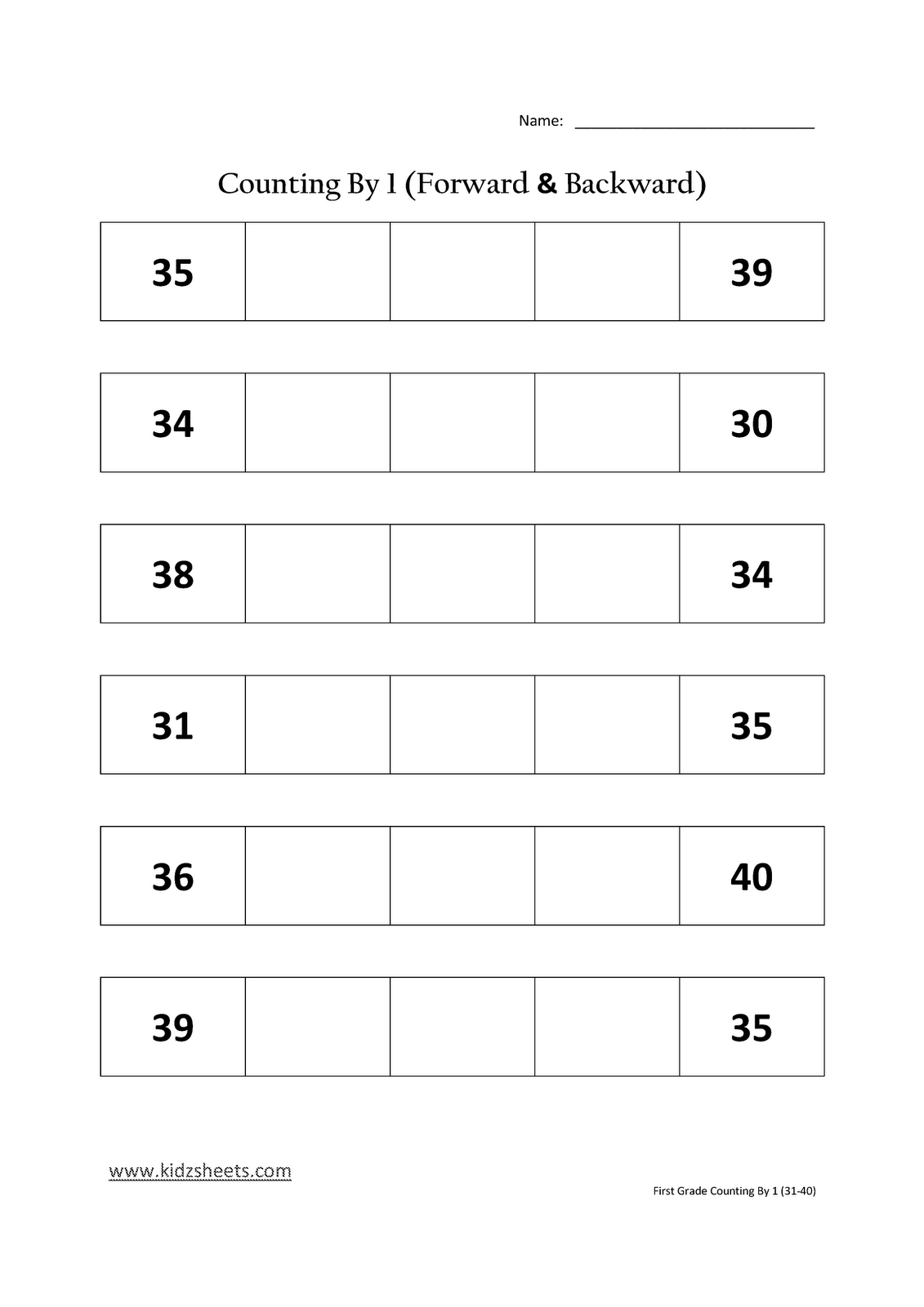 14 Best Images Of Kindergarten Counting Worksheets 11 20