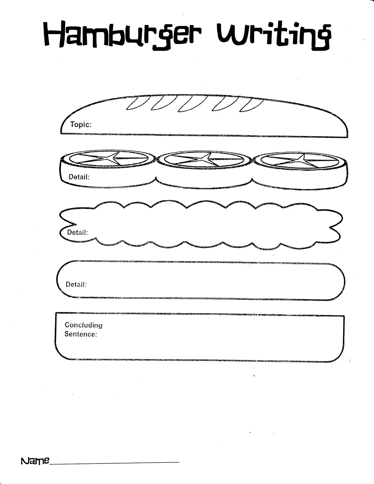 11 Best Images Of Food Writing Worksheets