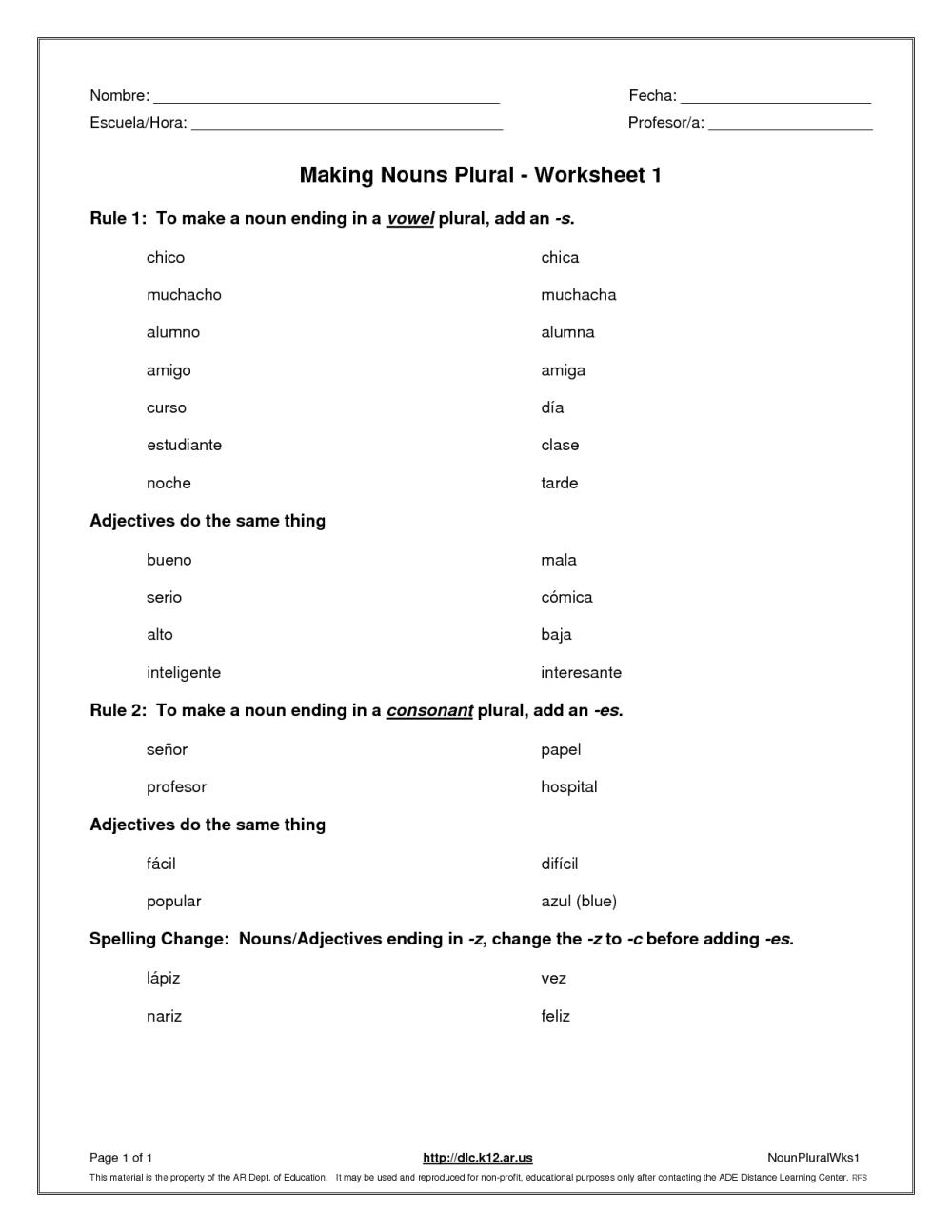 medium resolution of Food Plural Or Singular Worksheet   Printable Worksheets and Activities for  Teachers