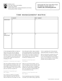 15 Best Images of Time Management Worksheet - Weekly Time ...