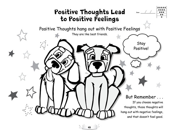 20 Best Images of Positive Coping Skills Worksheets For