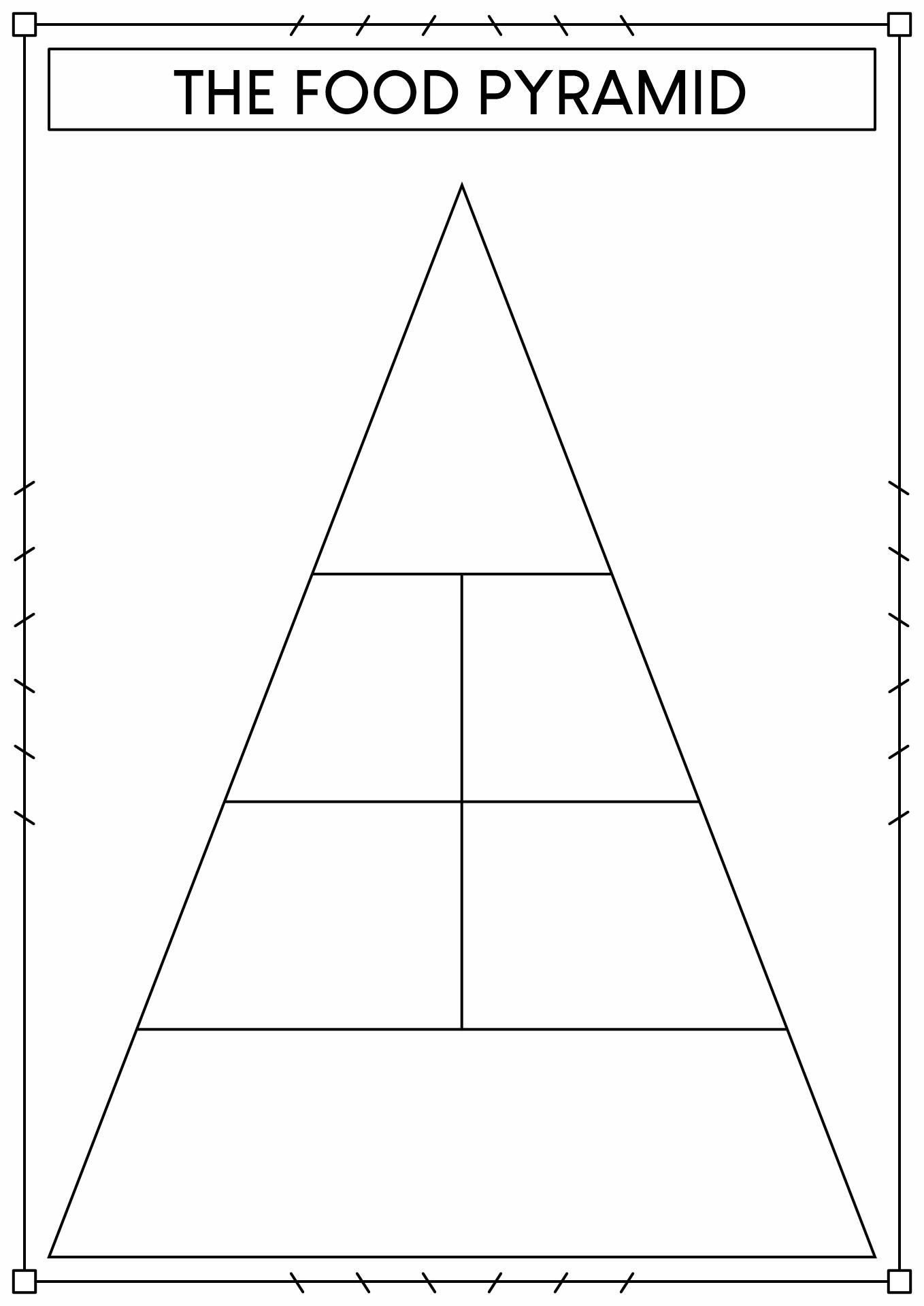blank pyramid template