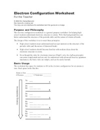 11 Best Images of Electron Configuration Practice ...