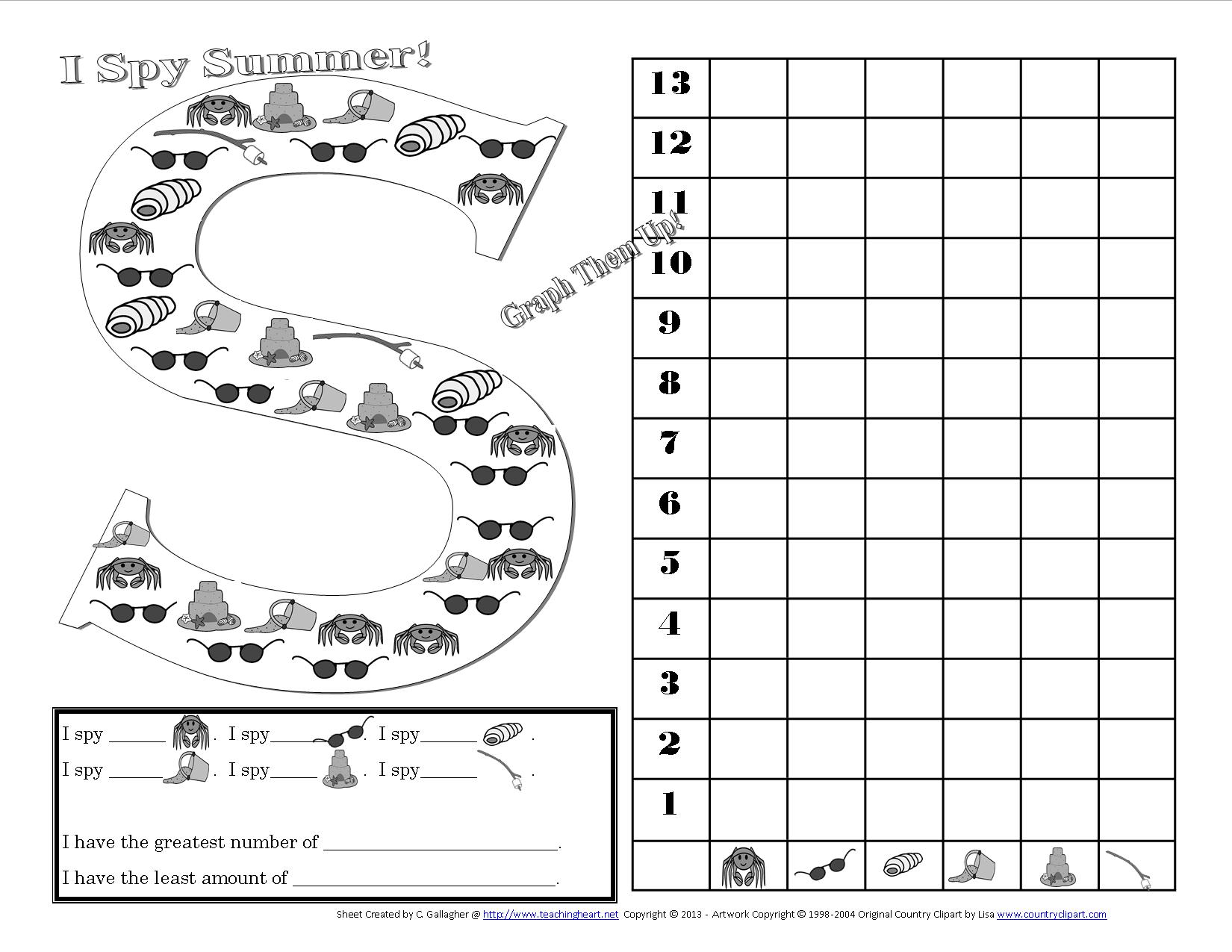 15 Best Images Of I Spy 100 Worksheet