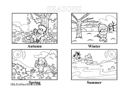 Apple Tree Seasons Worksheet. 4 best images of seasons