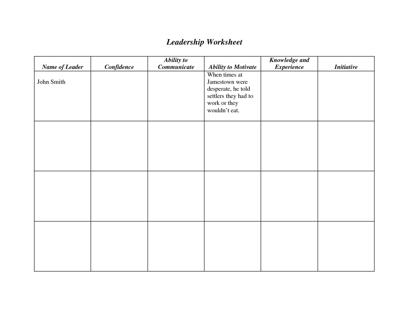 Decision Making Tree Worksheet