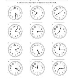 Digital Andogue Clock Clock Worksheet   Printable Worksheets and Activities  for Teachers [ 1584 x 1224 Pixel ]