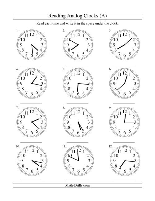 small resolution of Digital Andogue Clock Clock Worksheet   Printable Worksheets and Activities  for Teachers