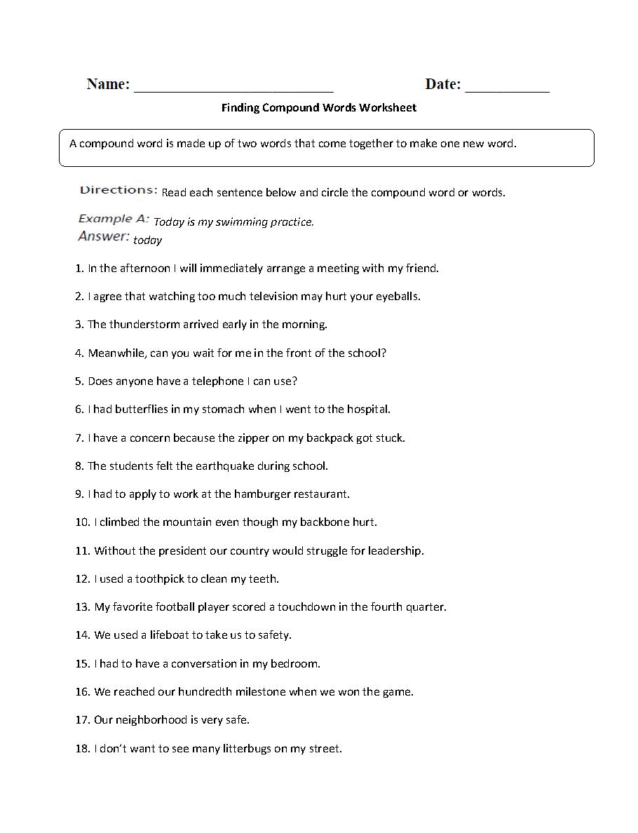 Worksheets 3rd grade transition words ibookread PDF