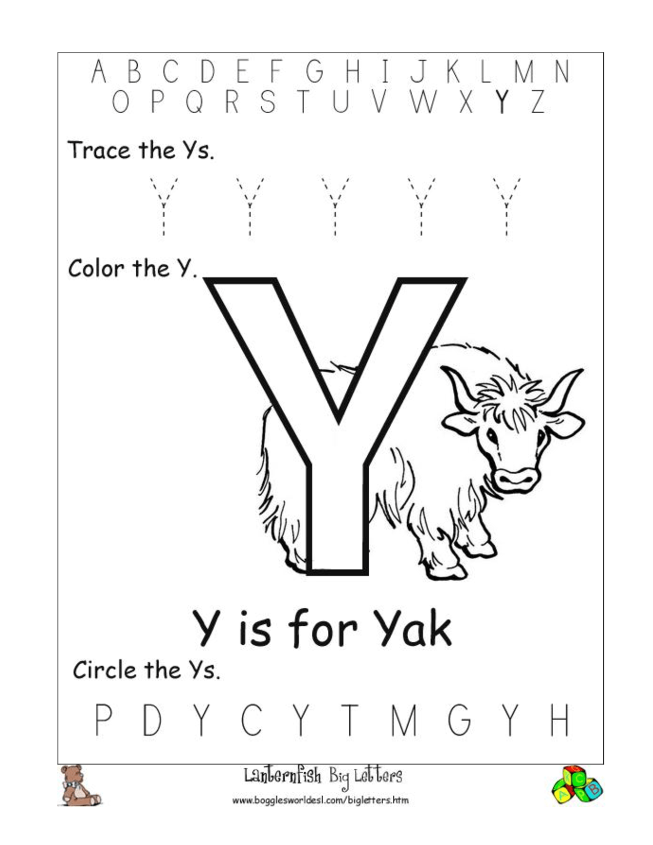 13 Best Images Of Phonics Letter I Worksheets