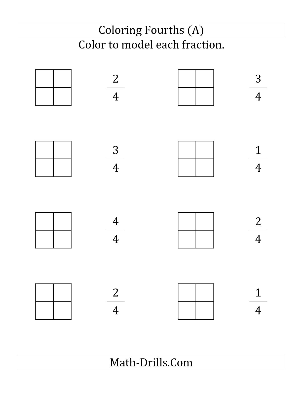 13 Best Images Of Easter Fraction Worksheets