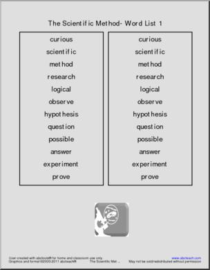 14 Best Images of Scientific Method Word Search Worksheet