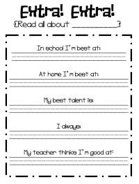 14 Best Images of Self -Awareness Activity Worksheets ...