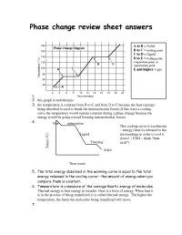 15 Best Images of Phase Change Diagram Worksheet Answers ...