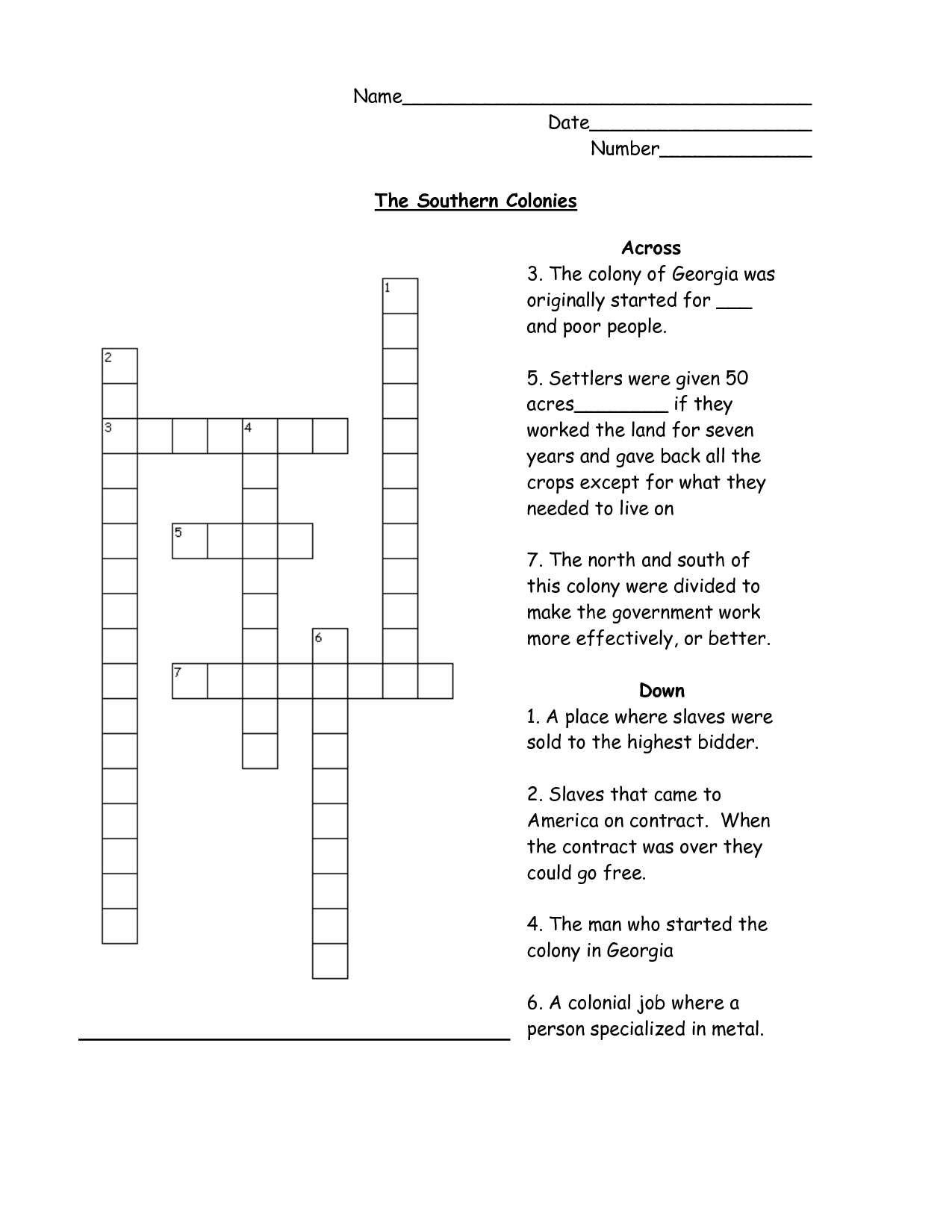 14 Best Images Of 13 Colonies Worksheets 5th Grade
